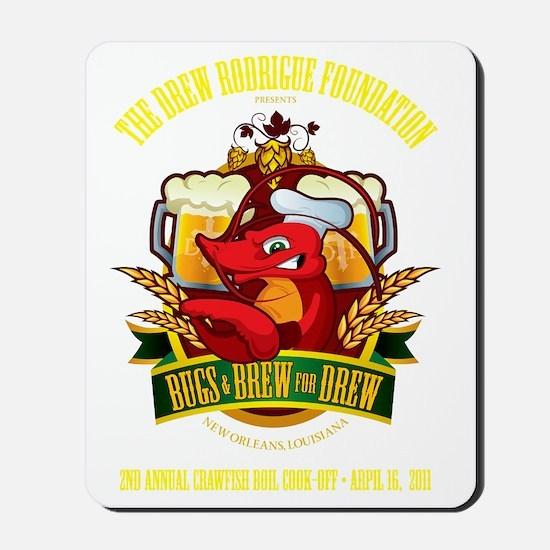 largePrintDark Mousepad
