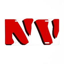 NV Aluminum License Plate