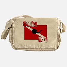 Scuba Dad Messenger Bag