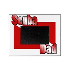 Scuba Dad Picture Frame