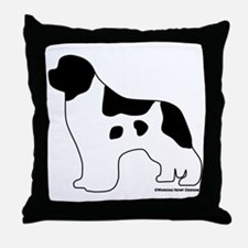 Landseer_logo Throw Pillow