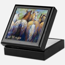Horse Hugs 2013 Calendar Keepsake Box