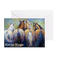 Horse Hugs 2013 Calendar Greeting Card