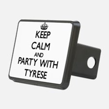 Keep Calm and Party with Tyrese Hitch Cover