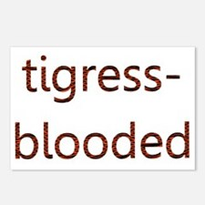 Tigress-Blooded Postcards (Package of 8)