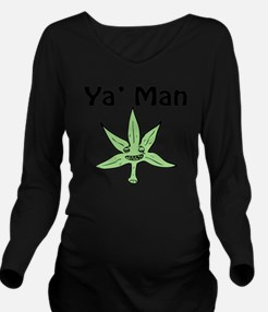 ya_man Long Sleeve Maternity T-Shirt