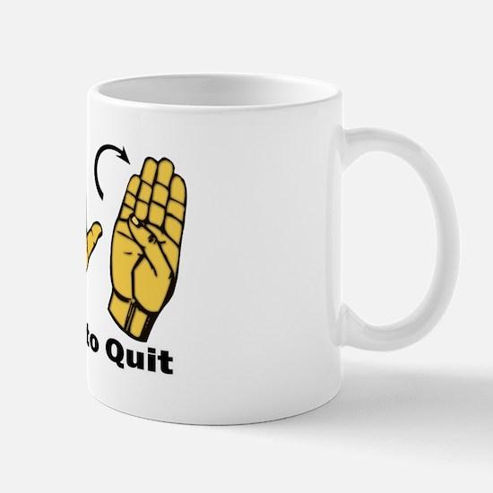 2 legit to quite Mug