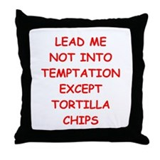tortilla Throw Pillow