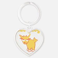 chad-gadya Heart Keychain