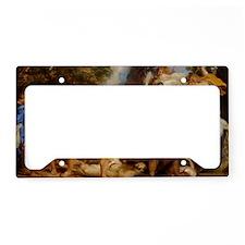Calydonian Boar Hunt License Plate Holder