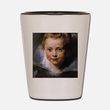 Portrait of a Young Girl Shot Glass