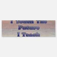 I_TEACH_3x7 Sticker (Bumper)