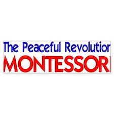 Peaceful Revolution Bumper Car Car Sticker