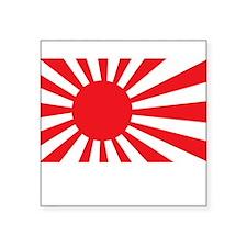 "JAPAN2 Square Sticker 3"" x 3"""