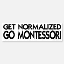 get normalized (bk) Bumper Bumper Bumper Sticker