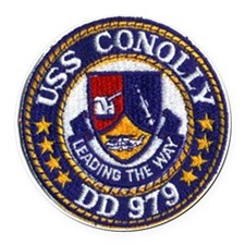 conolly patch Round Car Magnet