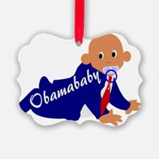 Obama baby Ornament