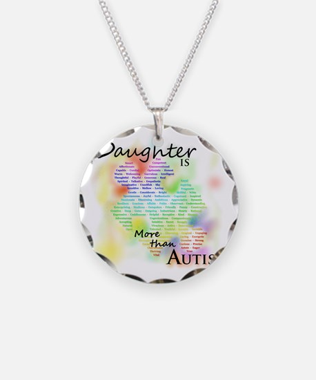 morethanautism2-DAUGHTER Necklace