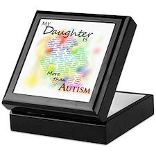 morethanautism2-DAUGHTER Keepsake Box