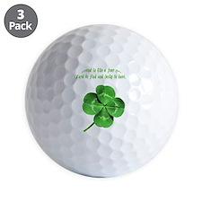 4leafcloverfriend Golf Ball