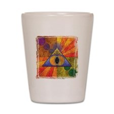 Sacred Pyramid _trans Shot Glass