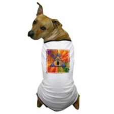 Sacred Pyramid _trans Dog T-Shirt