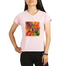 Sacred Pyramid _trans Performance Dry T-Shirt