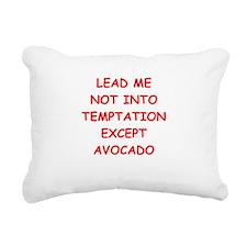 avocado Rectangular Canvas Pillow