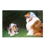 Bandana Collies Postcards (Package of 8)