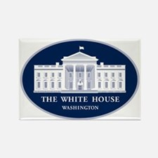The White House Rectangle Magnet