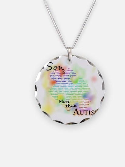 morethanautism2-SON Necklace Circle Charm