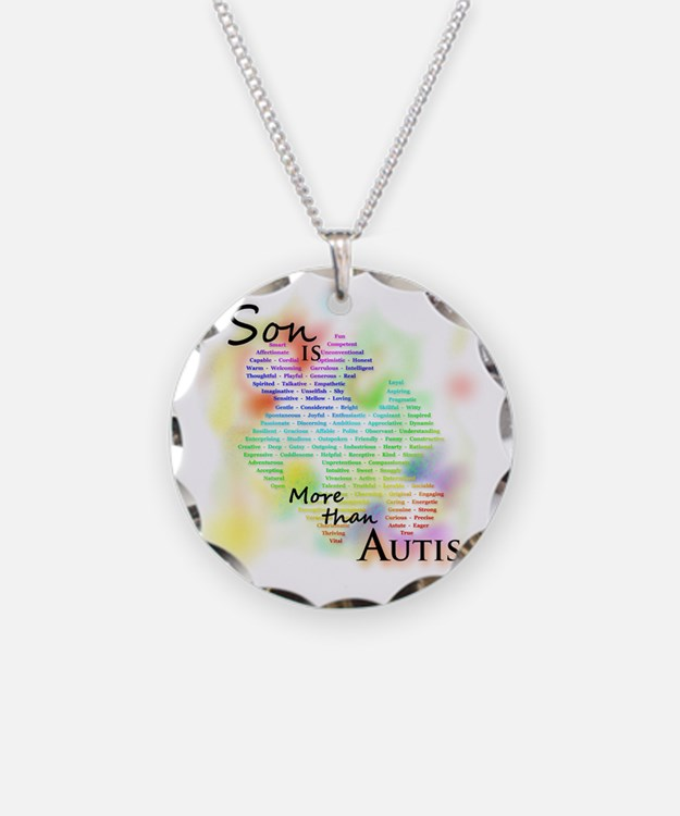 morethanautism2-SON Necklace Circle Charm