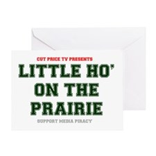 CUT PRICE TV PRESENTS - LITTLE HO ON Greeting Card