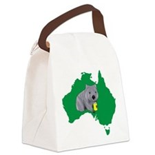 Wombat Canvas Lunch Bag