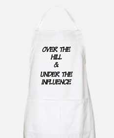 OVER THE HILL lt Apron