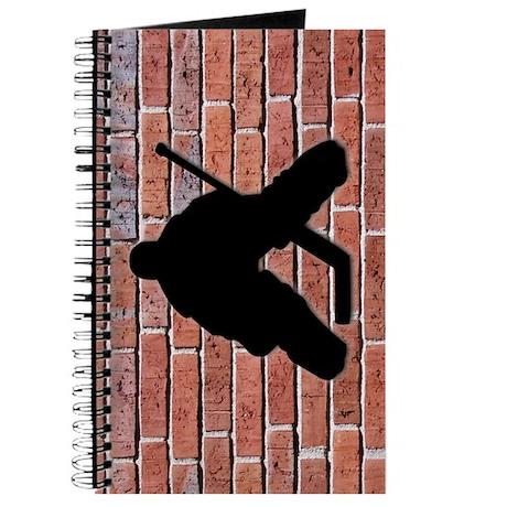 Brick Wall Hockey Goalie Journal