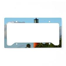 Jupiter Lighthouse Paint Effe License Plate Holder
