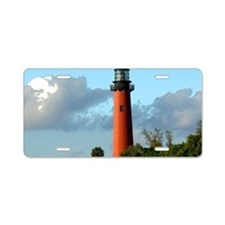 Jupiter Lighthouse Paint Ef Aluminum License Plate