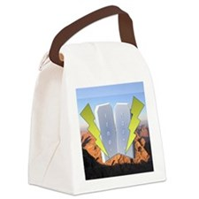 lujot Canvas Lunch Bag