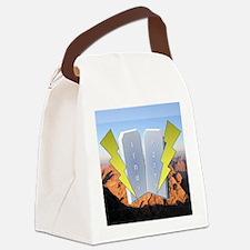 lujot Canvas Lunch Bag