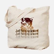brown kitten Tote Bag