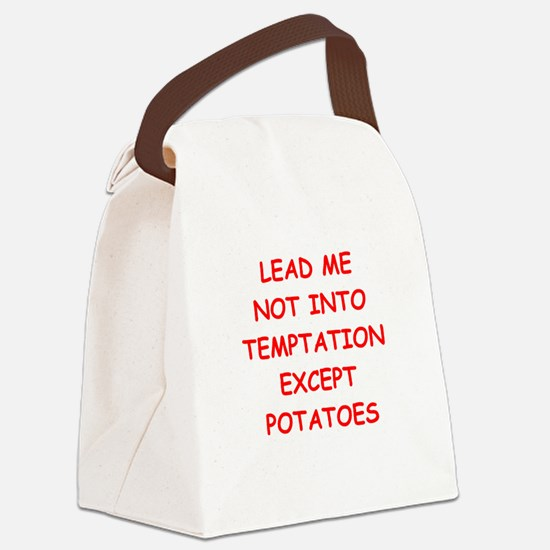 potatoes Canvas Lunch Bag