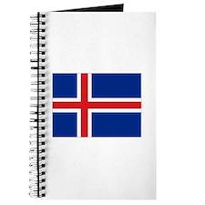 Flag Iceland Journal