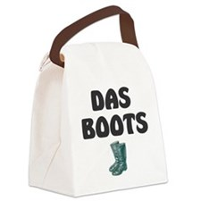 DAS BOOTS Canvas Lunch Bag