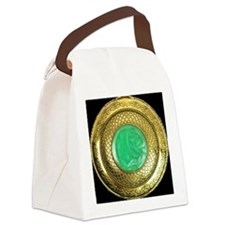 gold_and_jade_antique_watch_appar Canvas Lunch Bag
