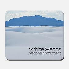 whitesands1a Mousepad