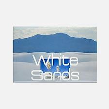 whitesandssq Rectangle Magnet