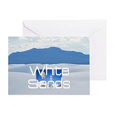 whitesandssq Greeting Card