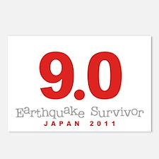 Japan Earthquake Survivor Postcards (Package of 8)