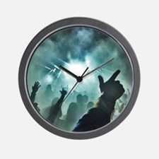 Pointtothesky large Wall Clock